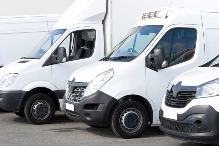 Vans-in-row